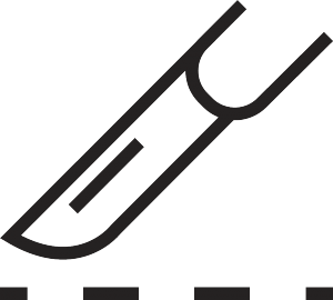 Common line cutting